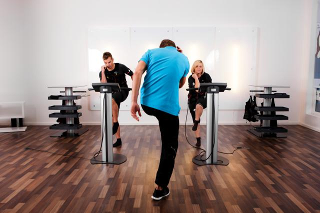 Intensives EMS Workout im Shapes